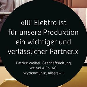 Elektro Illi AG – regionaler Elektro Dienstleister aus Willisau und Nebikon