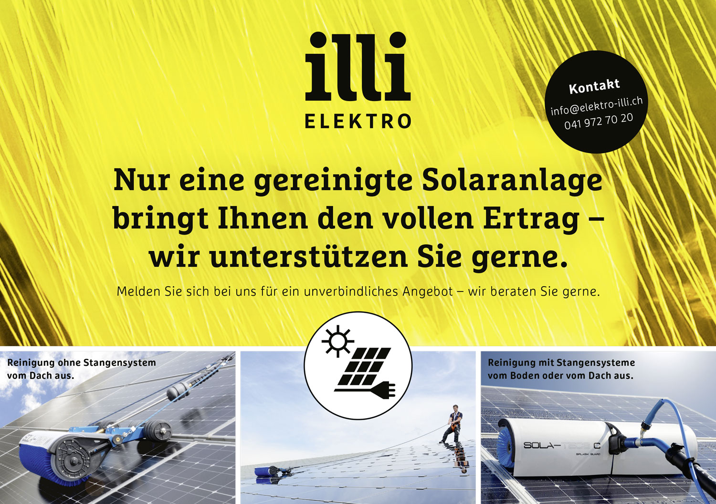Sie wollen eine Photovoltaik Solaranlage? Elektro Illi AG hilft kompletent!